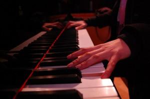 İlk piyano dersi