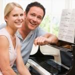 Yetişkinler için piyano kursu